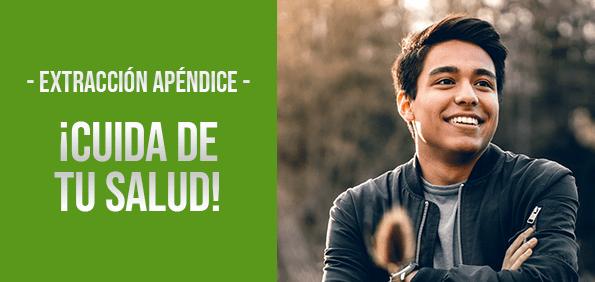 Banner Extraccion de Apendice Doctores Especialistas