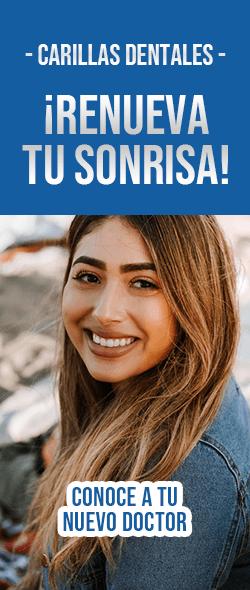 Banner Carillas Dentales Doctores Especialistas