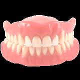 Imagen ilustrativa de dentadura postiza