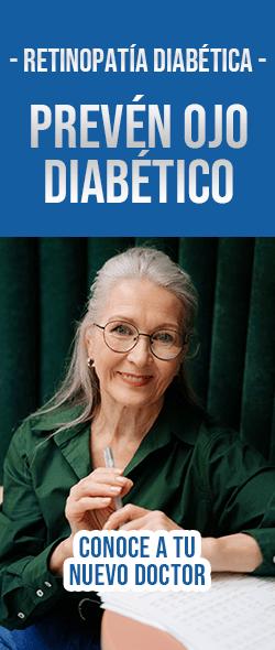 Banner Retinopatía diabética Doctores Especialistas