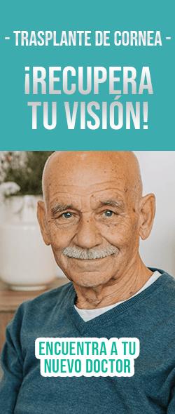 Banner Trasplante de cornea Doctores Especialistas