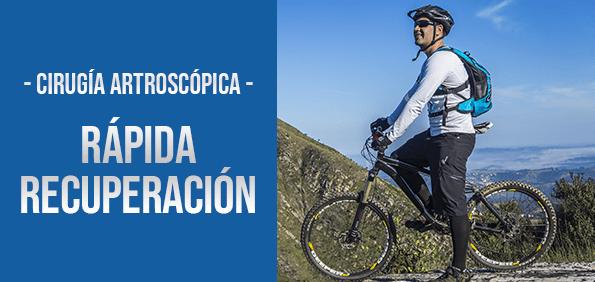 Banner Cirugía artroscópica Doctores Especialistas