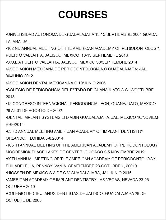 Certificado dentista de Ajijic