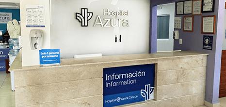 Bariatra clinica recepcion Cancun
