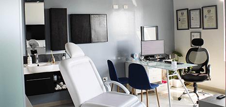 Otorrinolaringologia clinica sala de exploracion Cancun