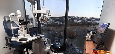 Oftalmologo clinica sala de exploracion Chihuahua