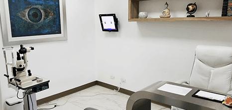 Oftalmologo clinica sala de exploracion Ciudad Juarez