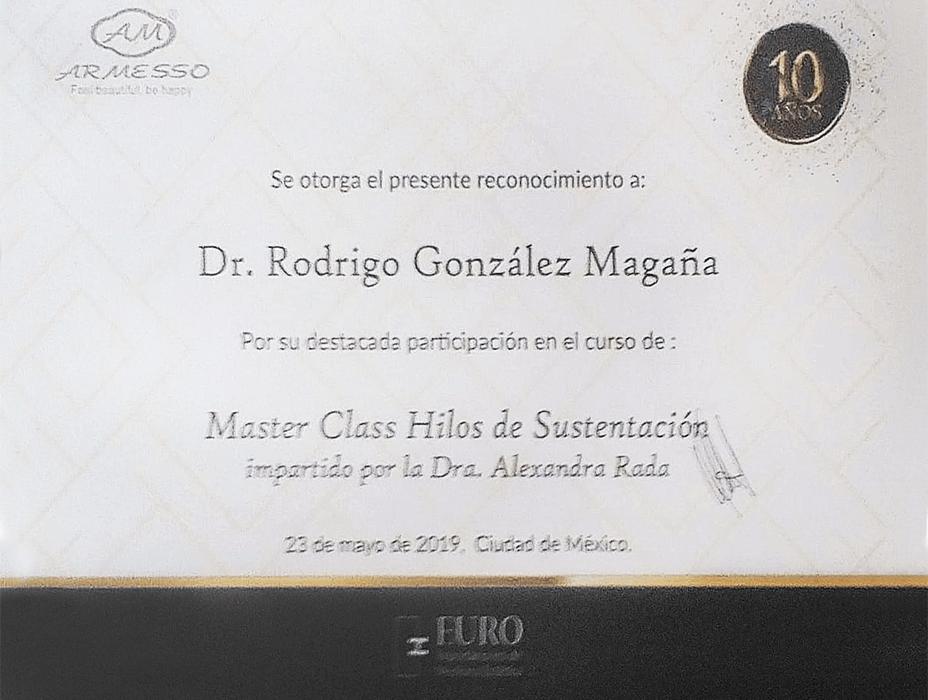 Certificado Rejuvenecimiento de Guadalajara