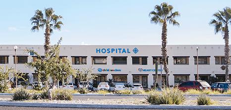 Entrada Hospital Los Cabos