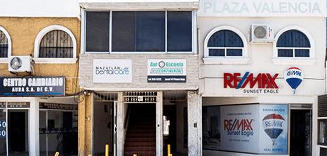 Dentista clinica exterior Mazatlan