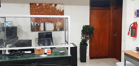 Ortopedia clinica recepcion Mazatlan