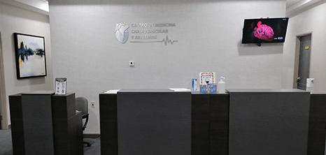 Cardiologia clinica recepcion Monterrey