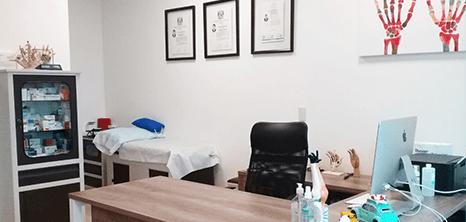 Neurocirugia clinica sala de exploracion Monterrey