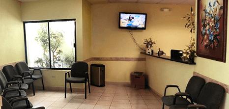 Bariatra clinica recepcion Nuevo Laredo