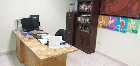 Bariatra clinica sala de exploracion Nuevo Laredo