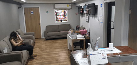 Ginecologia clinica recepcion Nuevo Laredo