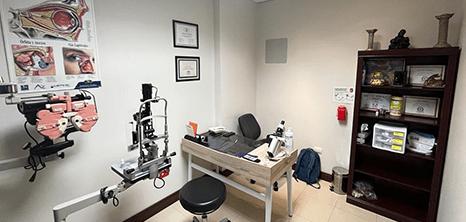 Oftalmologo clinica recepcion Reynosa