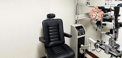 Oftalmologo clinica sala de exploracion Reynosa