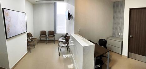 Ortopedia clinica recepcion Saltillo