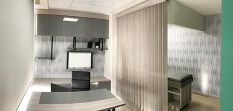 Ortopedia clinica sala de exploracion Saltillo