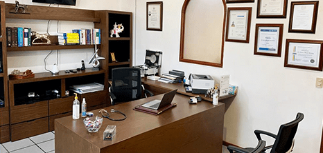 Bariatra clinica recepcion Toluca